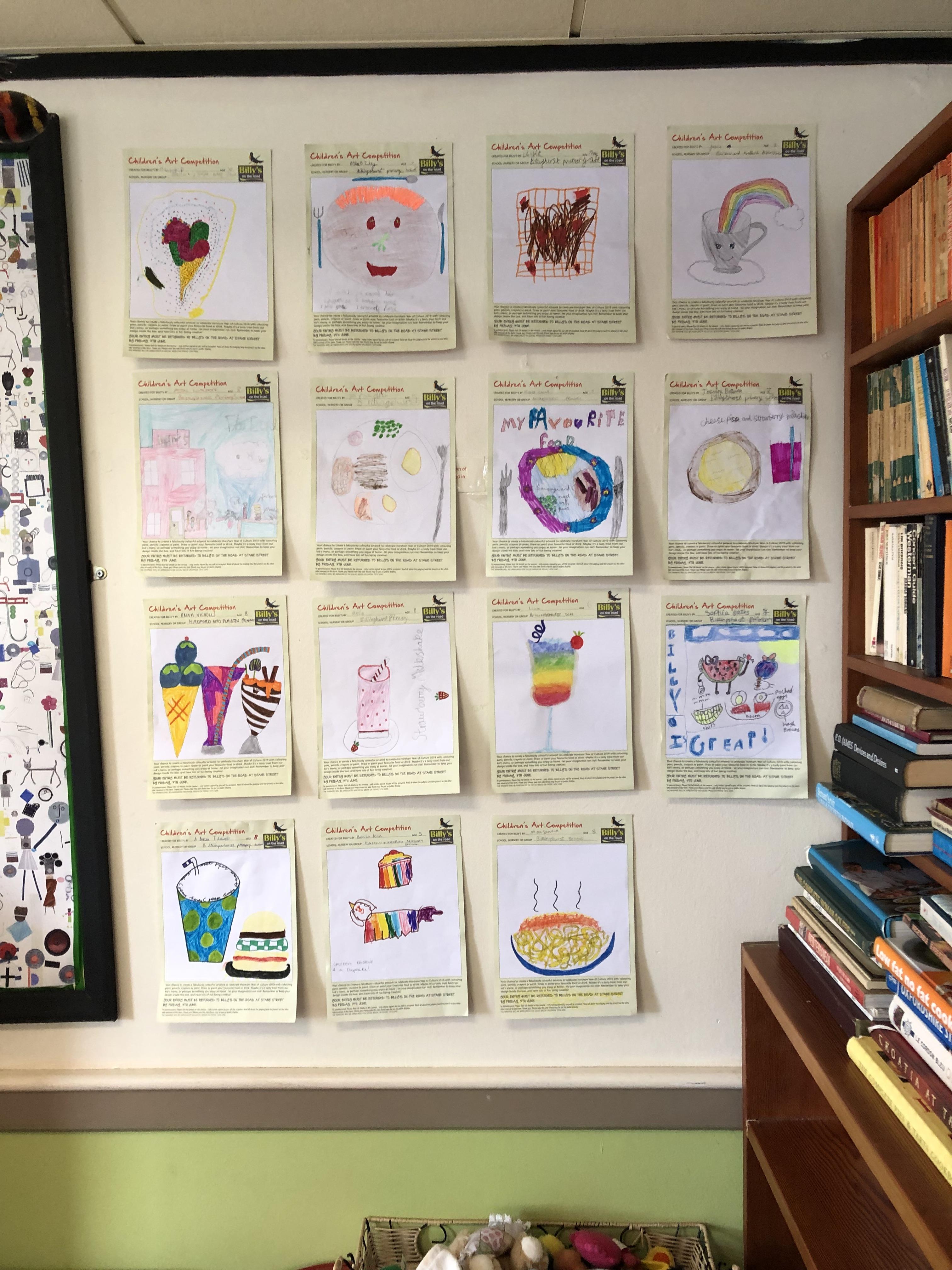 hildren's gallery of artwork in Billingshurst