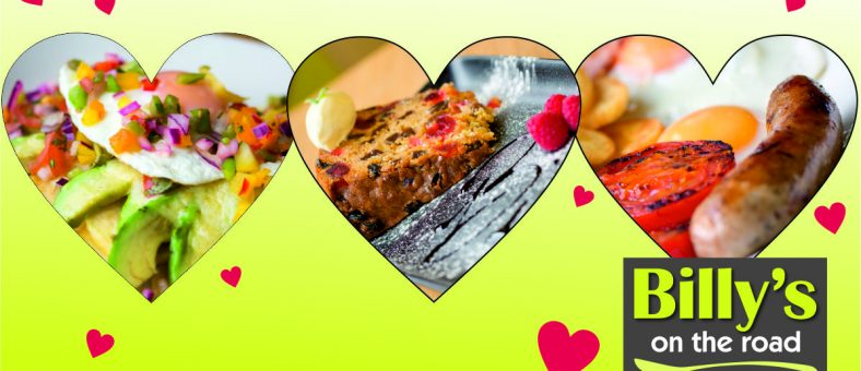 Share your love of Billy's and win a meal for two